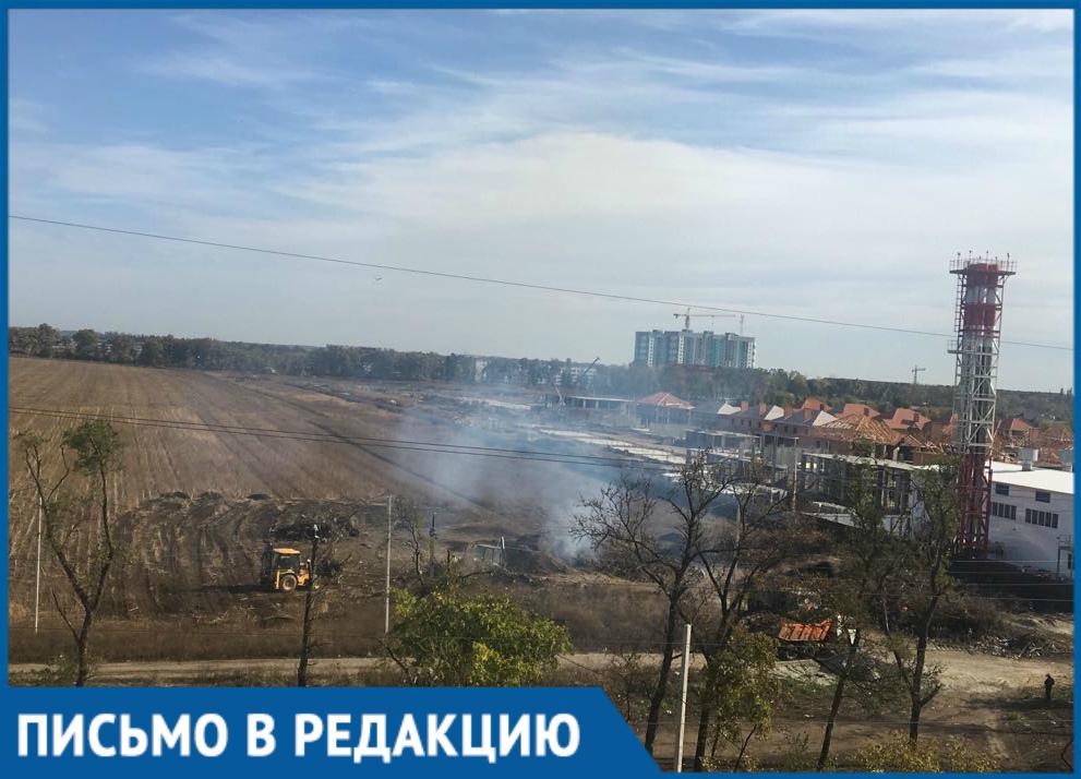 Краснодарцы пожаловались на пепел после утилизации мусора