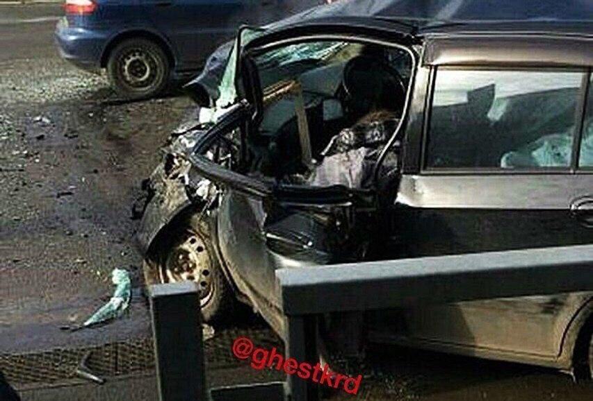 Скончался водитель, устроивший смертельное ДТП в Краснодаре