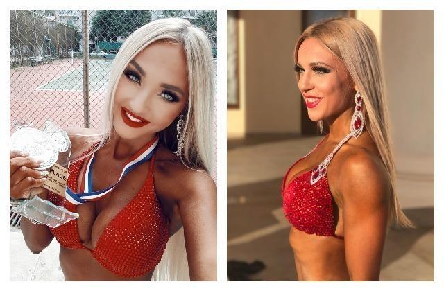 Блондинки из Краснодара устроили скандал после турнира по бодибилдингу в Греции