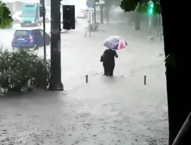 «Ничего катастрофического не было»: В краснодарской мэрии о потопе