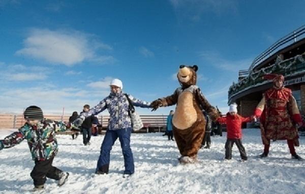 На горнолыжном курорте Сочи организуют  детские тематические праздники
