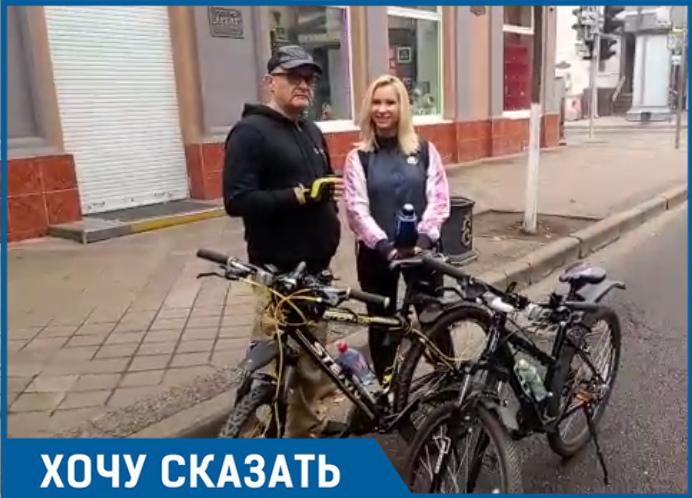 «Краснодар не очень приспособлен для прогулок на велосипеде», - жители просят больше велодорожек