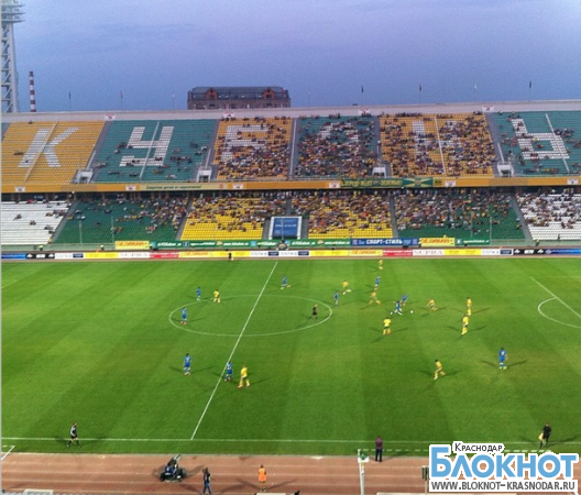 В матче «Кубань - Ростов» никто не уступил