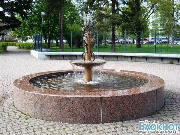 В Анапе началось строительство нового фонтана