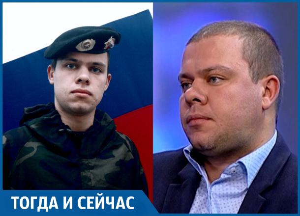 «Без домашней еды в армии тоскливо», - директор ДТиДХ Краснодара Владимир Архипов