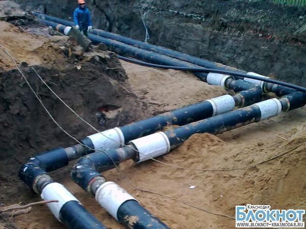 В Темрюкском районе произошел прорыв магистрального водопровода