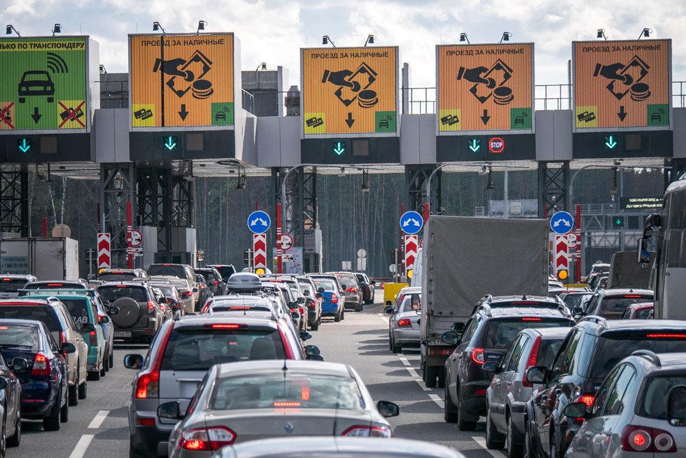 «Зайцев» на кубанских пунктах оплаты трассы М-4 будут снимать видеокамеры
