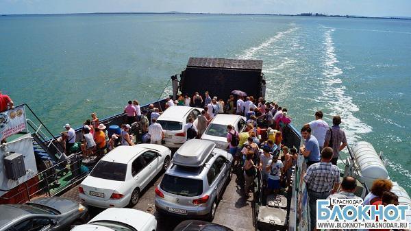 Пассажиропоток на Керченской переправе за май вырос в 1,5 раза