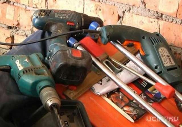 В пять лет обошлись жителю Краснодара четыре электроинструмента