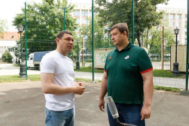 Мэр Краснодара поручил привести в порядок баскетбольные площадки в сквере Дружбы народов