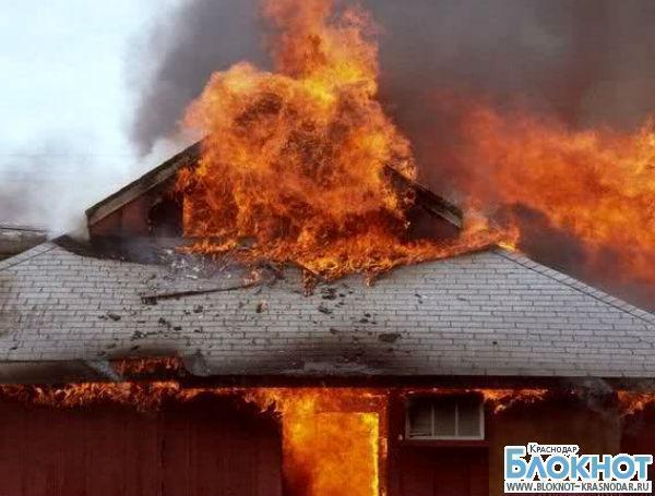 Пожар в Белореченском районе унес жизнь взрослого мужчины