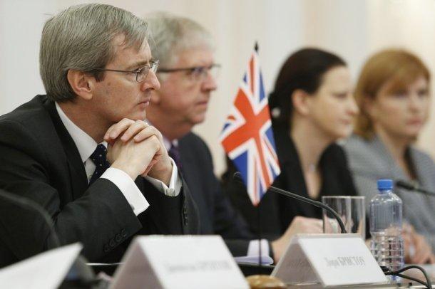 Губернатор Кубани встретился с Послом Великобритании