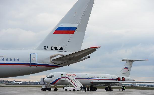 Владимир Путин перед полетом в Сочи сменил самолет