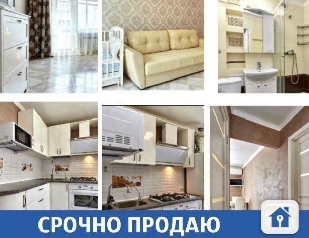 Продается квартира с хорошими соседями в Краснодаре