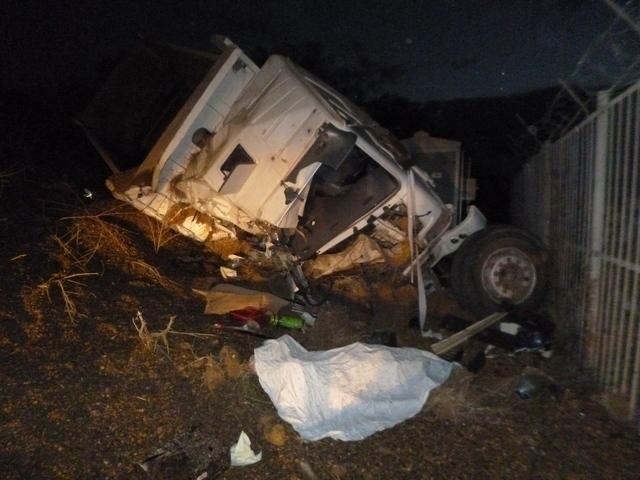 В Краснодарском крае на одном и том же повороте перевернулись два грузовика