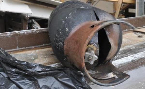 В Лабинске на рынке взорвался газовый баллон