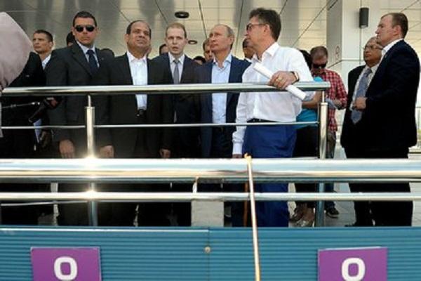 На Кубани встретились главы Российского и Египетского государств