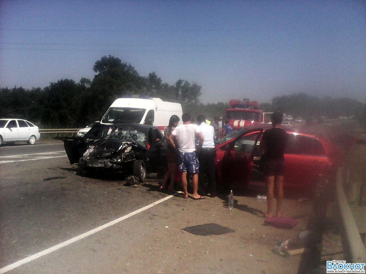 Количество жертв аварии  на трассе «Краснодар-Новороссийск» увеличилось