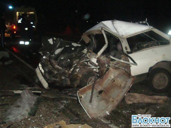ДТП В Динском районе: двое погибли