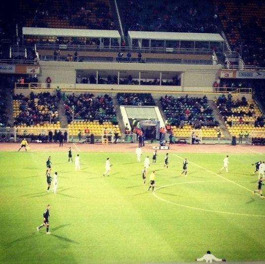 Впервые за всю историю кубанского футбола местная команда смогла подняться на второе место после 14-го тура