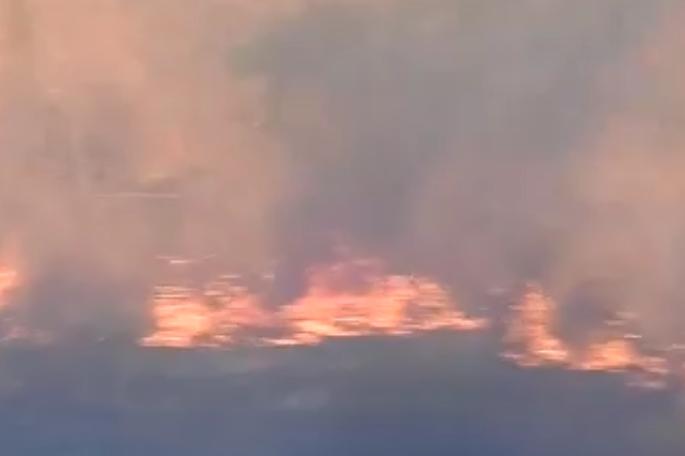 Жители Краснодара показали, как горел «Солнечный остров» и как его тушили