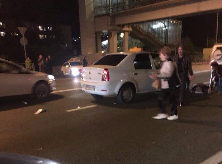 Сочинское такси сбило насмерть двух женщин, пересекавших дорогу под надземным переходом