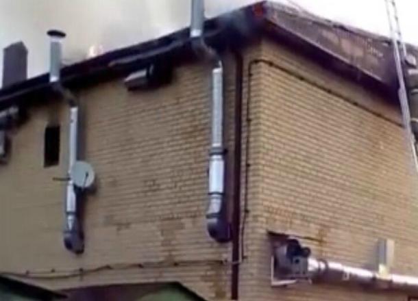 В сауне Краснодара произошел пожар