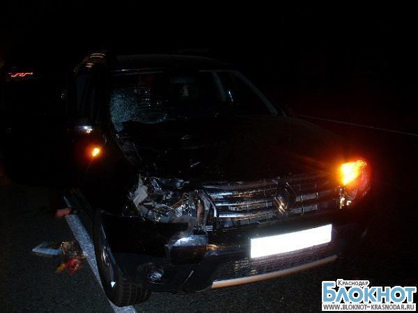 В Краснодарском крае автомобиль сбил пешеходов