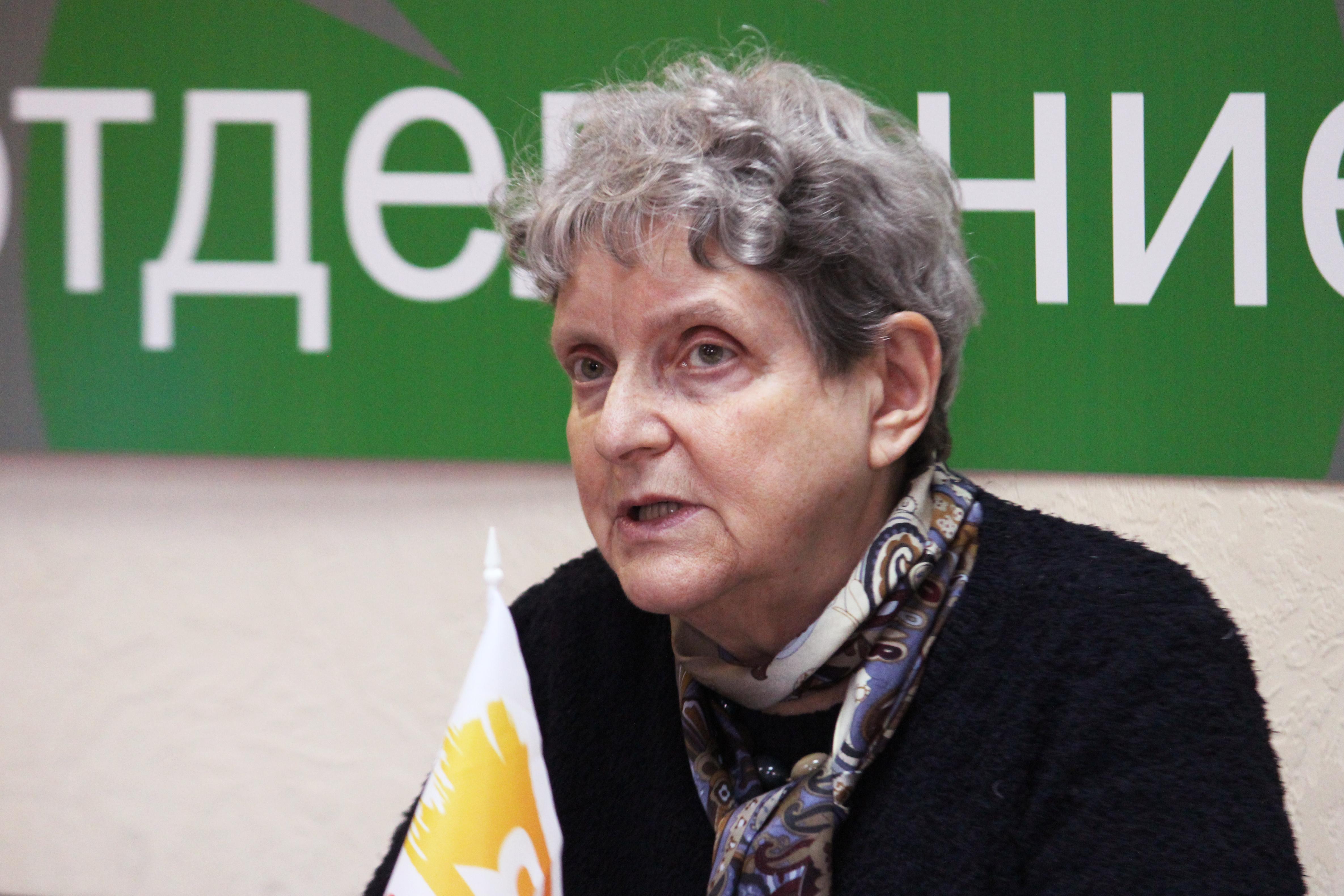 Светлана Ганнушкина: «Влияние в мире достигается культурой»