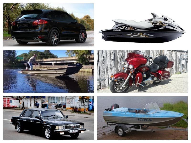 Мотоциклы, лодки, болотоходы: на чем еще ездят депутаты  Заксобрания Краснодарского края