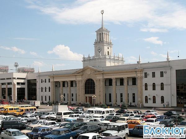 В Краснодаре закрыли движение на привокзальной площади