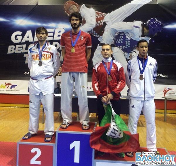 Кубанские спортсмены завоевали серебро на международных соревнованиях по тхэквандо