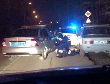 «Пацан к успеху шел»: в Новороссийске на видео сняли задержание водителя