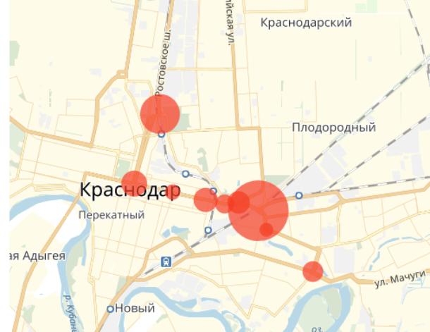 «Куда не ездить, чтобы избежать ДТП?»: опубликован список аварийных участков в Краснодаре