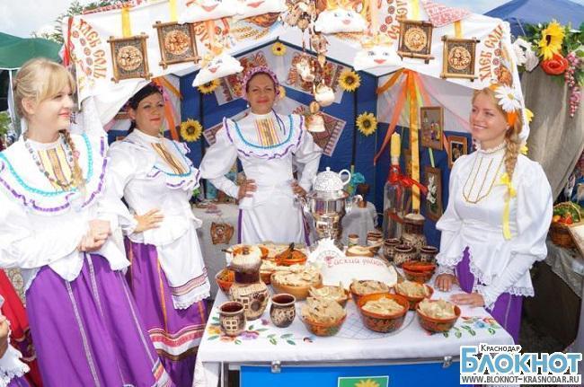 Фестиваль вареников проходит в  «Атамани»