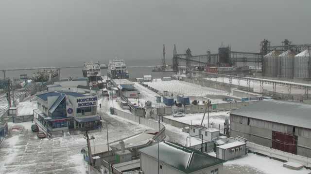 Керченская переправа закрыта из-за  неблагоприятных погодных условий
