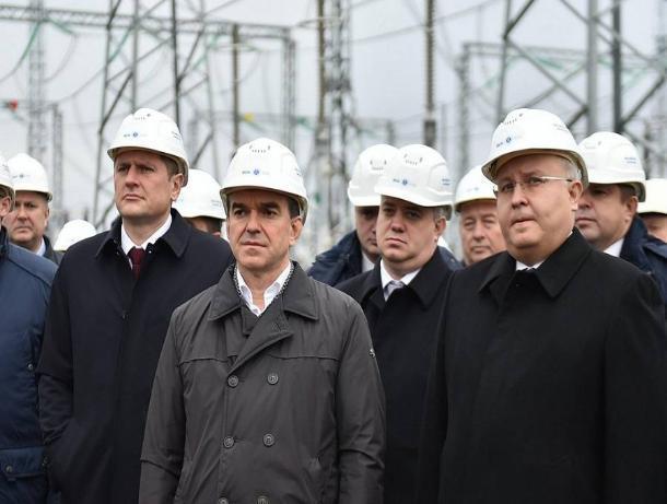 Новую подстанцию открыли в Краснодаре