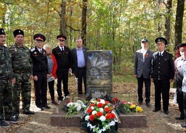 На Кубани установили памятник погибшим в годы войны летчикам