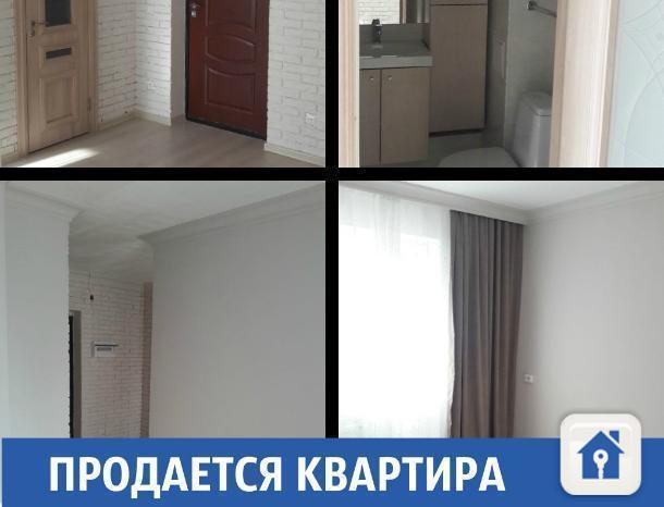 Недорогая квартира с хорошим ремонтом продается в Краснодаре