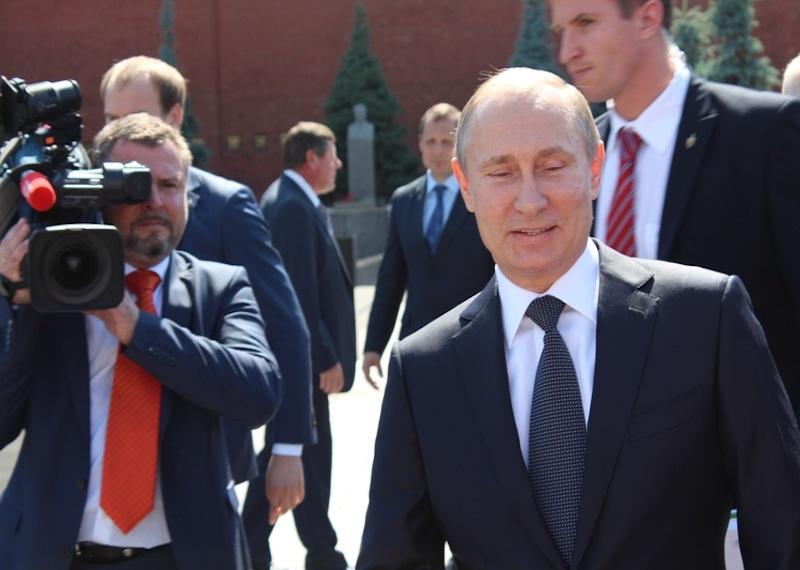 Владимир Путин вылетел в Женеву из Сочи