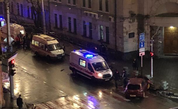 В Краснодаре в ДТП с маршруткой пострадали семь человек