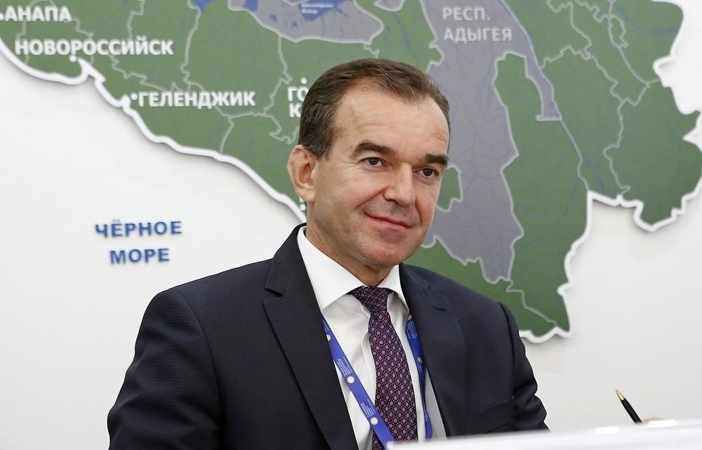 Как итоги РИФ-2018 отразятся на экономике Краснодарского края рассказал губернатор Вениамин Кондратьев
