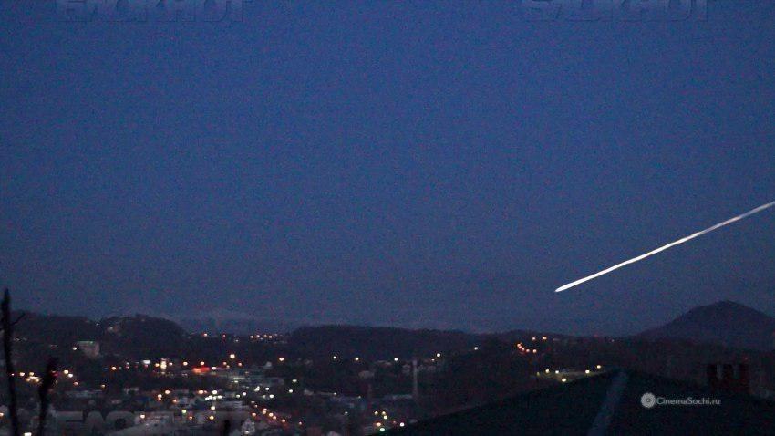 Ученые рассказали, что пролетело над Сочи вместо НЛО