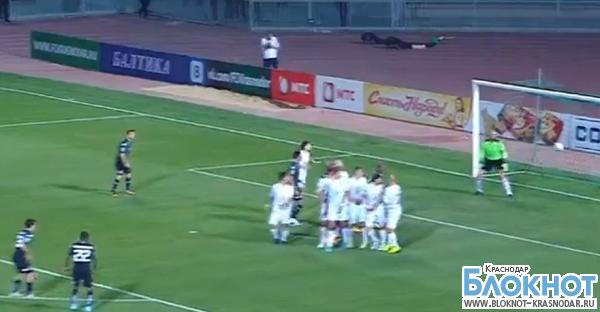 Футбольный Клуб «Краснодар» одержал уверенную победу над «Арсеналом»