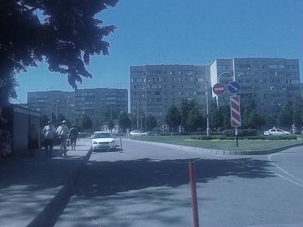 В столице Кубани неизвестный водитель сбил пешехода и скрылся
