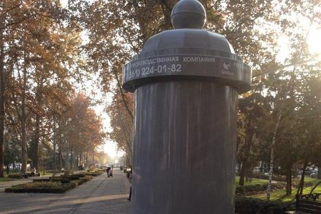 Рекламные тумбы установят по всему Краснодару