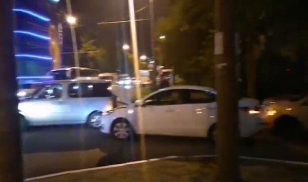 Массовое ДТП произошло ночью в Краснодаре