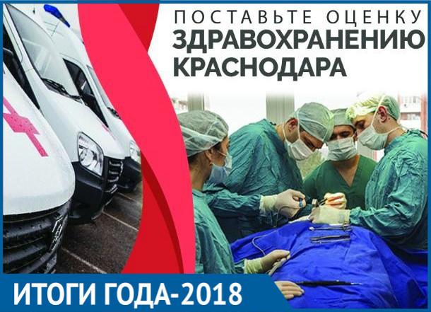 Медленные «скорые», «аптечная наркомания» и врачи с «золотыми руками»: итоги года - 2018 в здравоохранении Краснодара