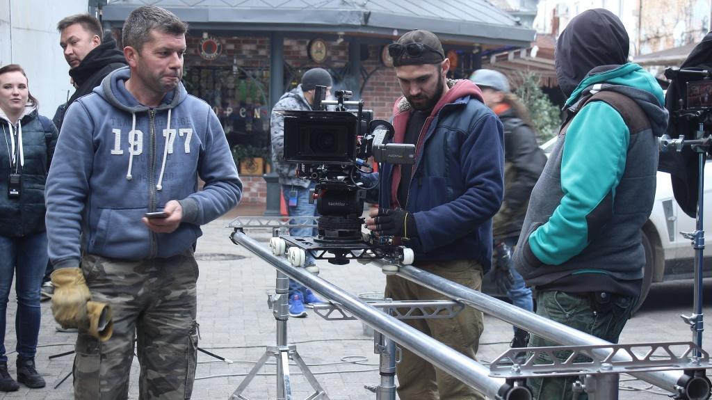 Вцентре Краснодара из-за съемок фильма временно поменяется  схема движения